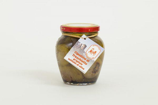 cipolline di treschietto grigliate sottolio di oliva