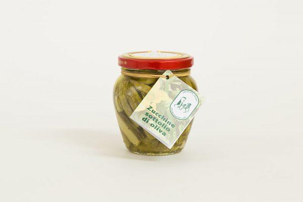 zucchine sottolio di oliva